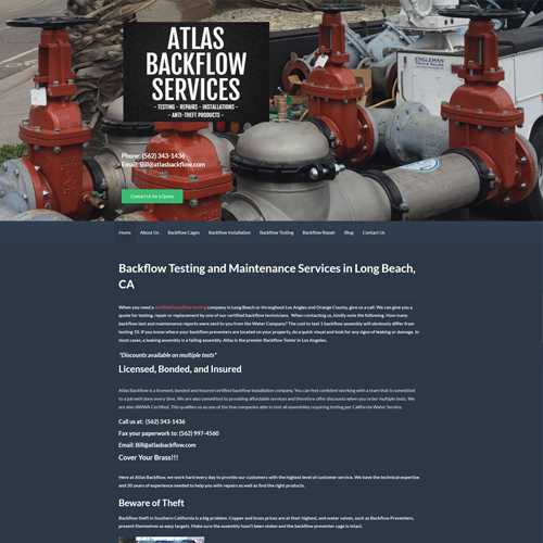 Atlas Backflow